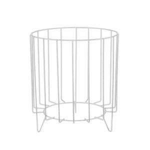 Hire-Pot-Stand-White-Wire-Zinc