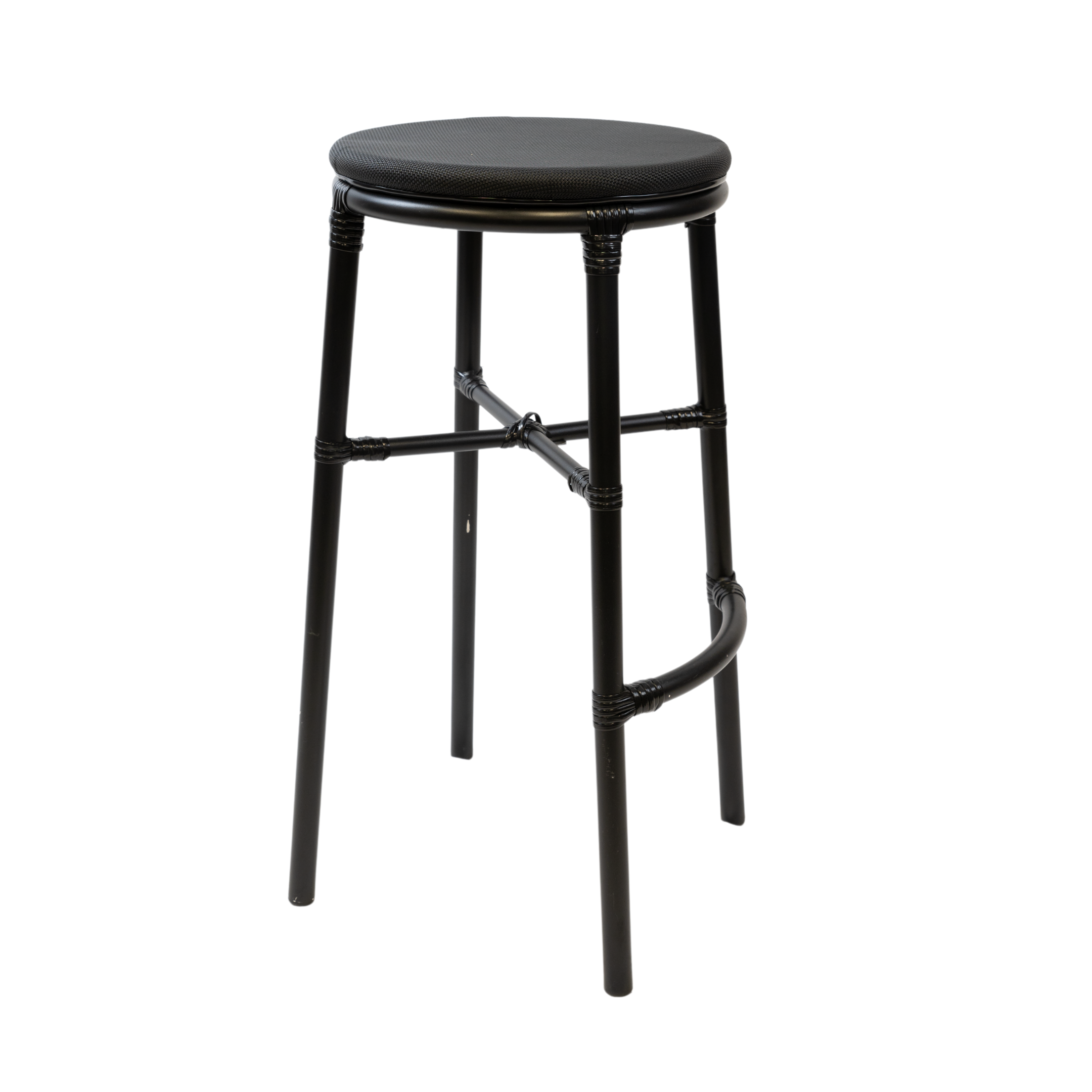 Black-Luca-Bar-Stool-Hire