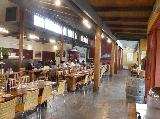 Fergusson winery restaurant undecorated