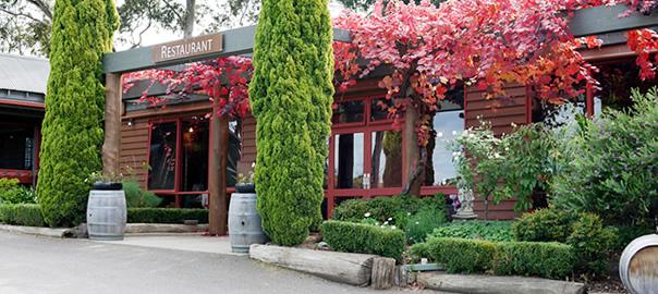 Fergusson winery entrance