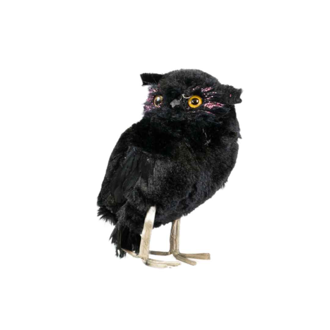 small-black-owl-prop-hire-melbourne