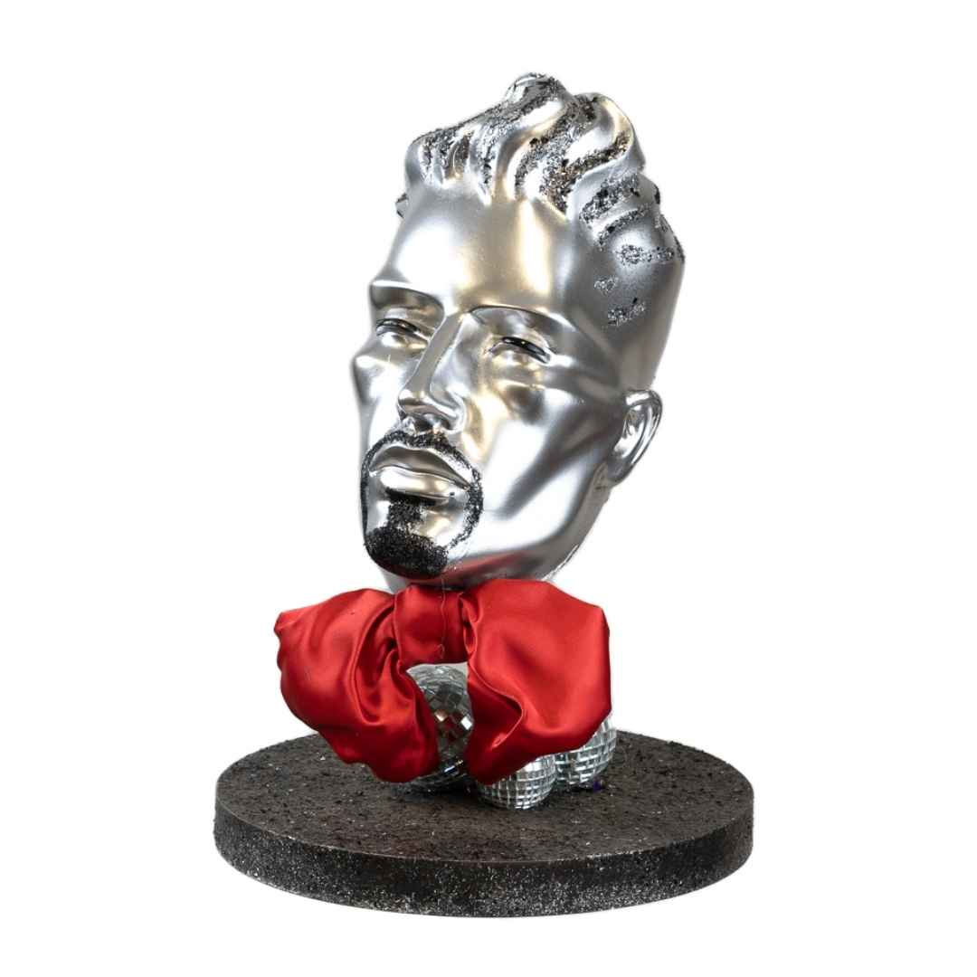 Mannequin-Male-Head-Bow-Tie-Hire-Melbourne-Feel-Good-Events