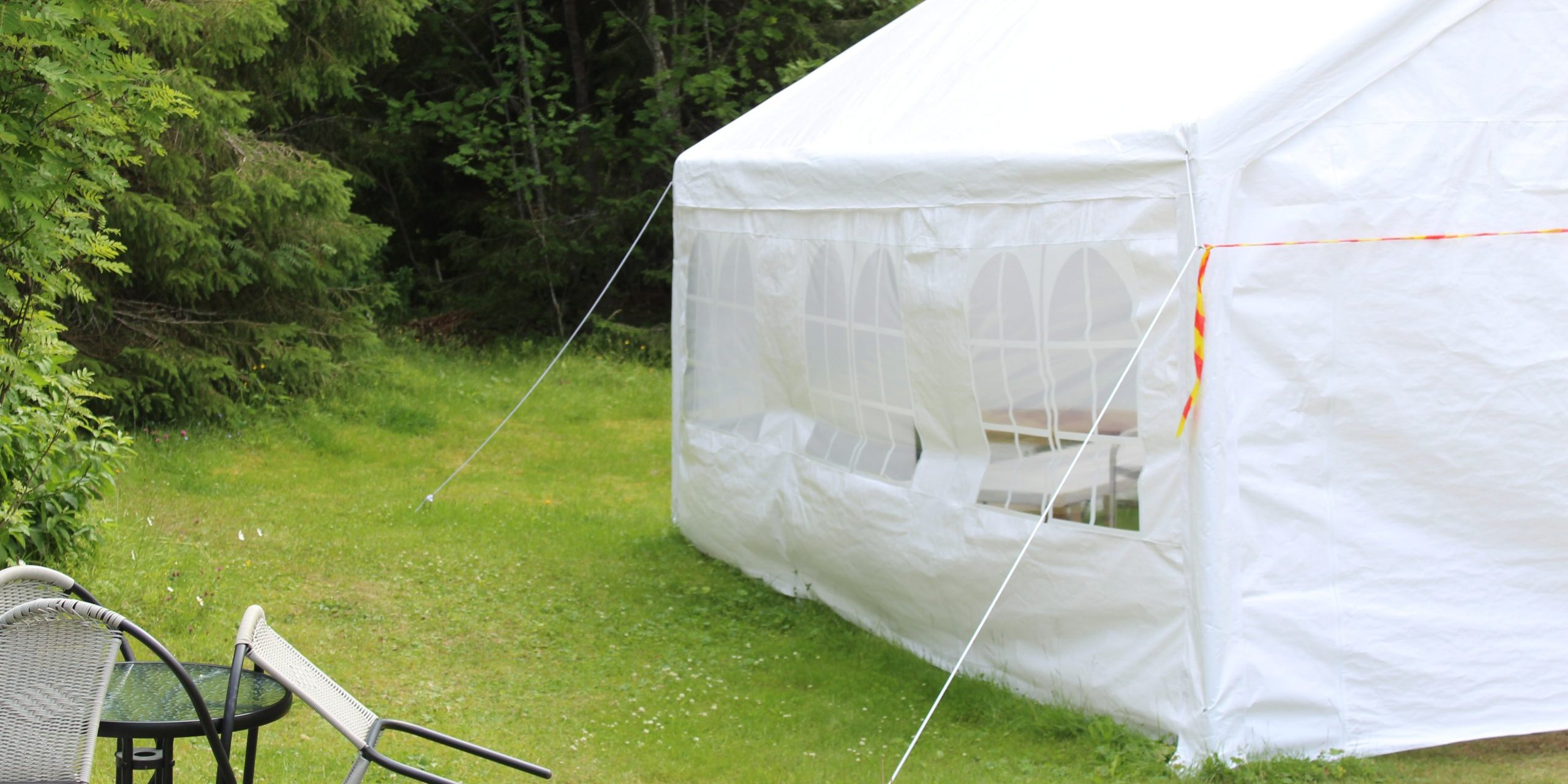 cheap marquee hire in back garden