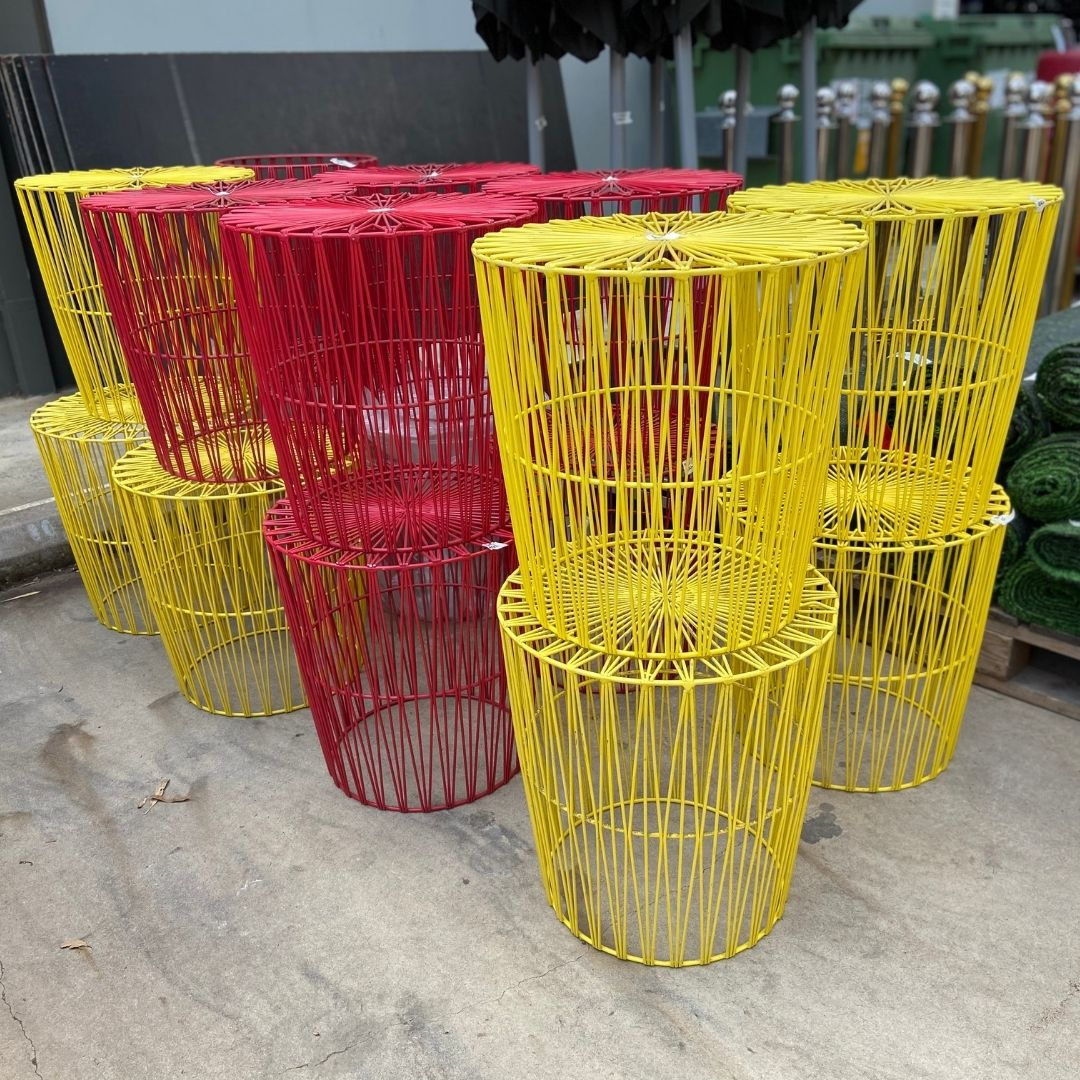 red-yellow-wire-basket-coffee-table-for-sale-melbourne