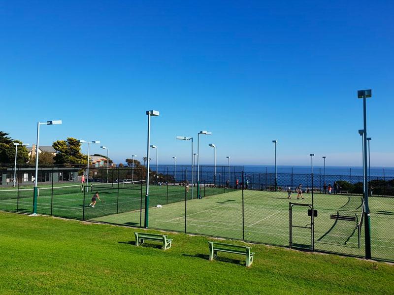 Ranelagh club mt eliza tennis courts