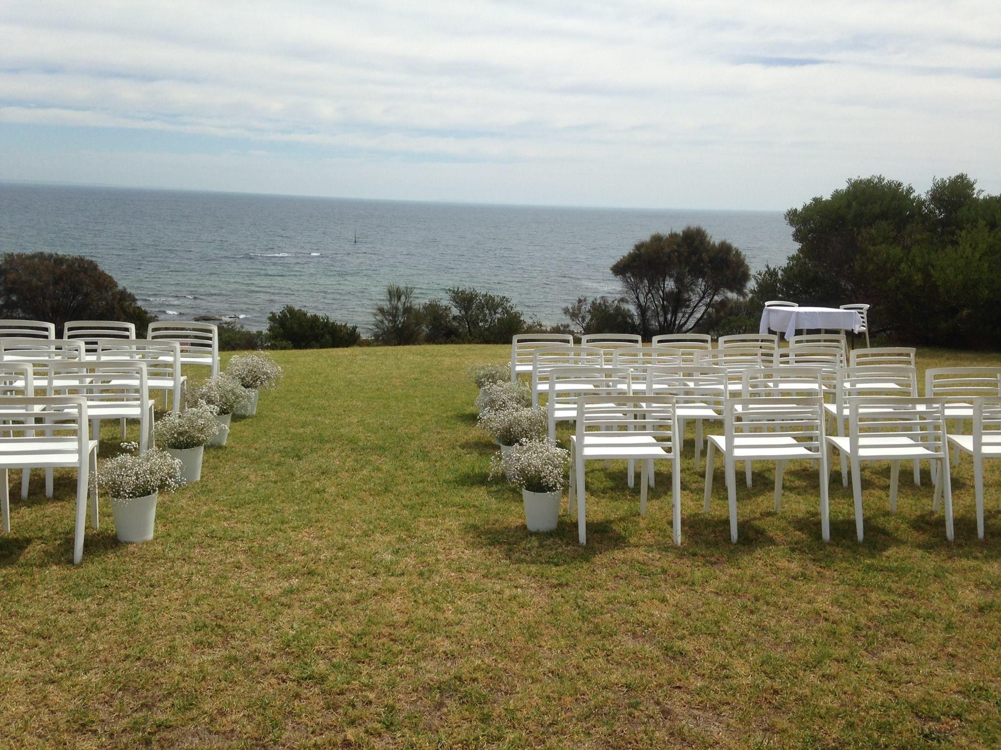 Ranelagh club mt eliza wedding ceremony
